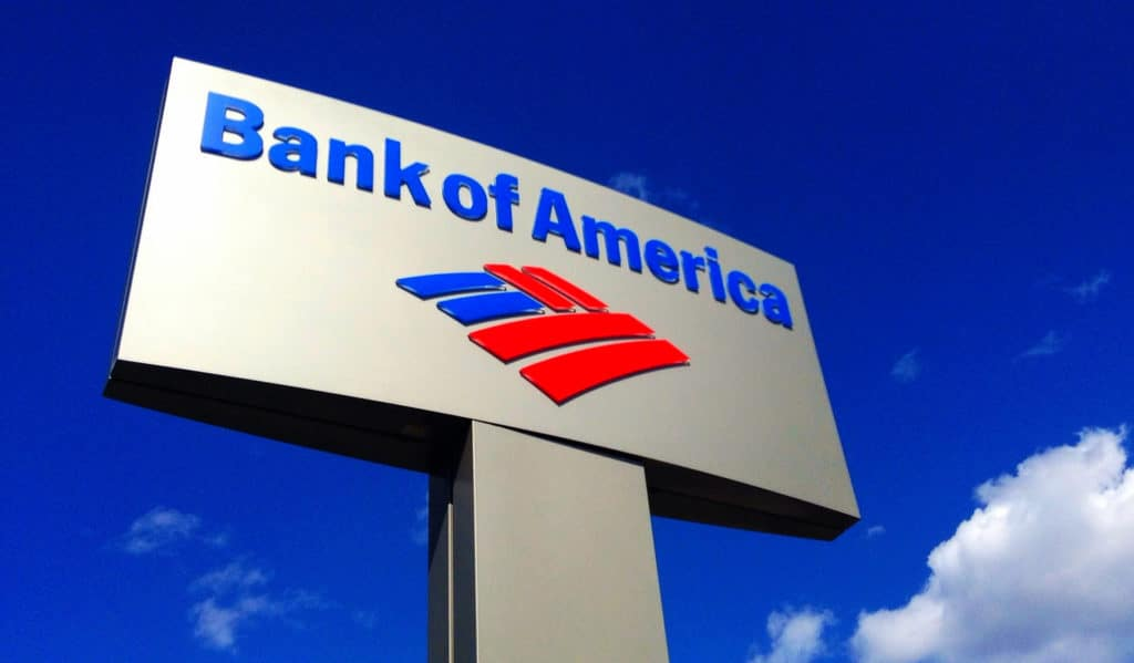 Bank of America: a patent for a digital wallet