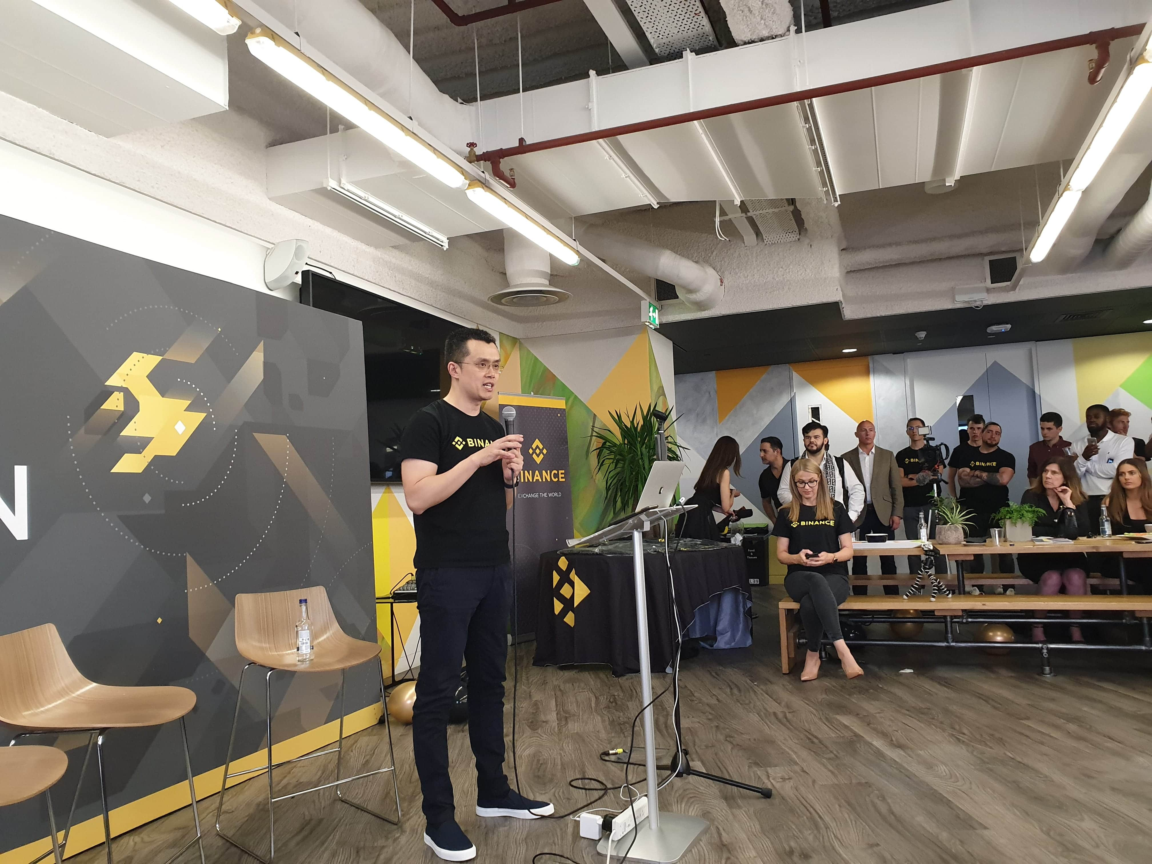 "Binance, London meetup: ""DEXs will be the future"""
