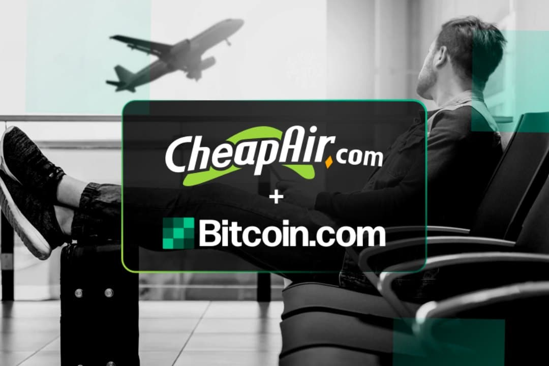 Cheapair.com in partnership with Bitcoin Cash