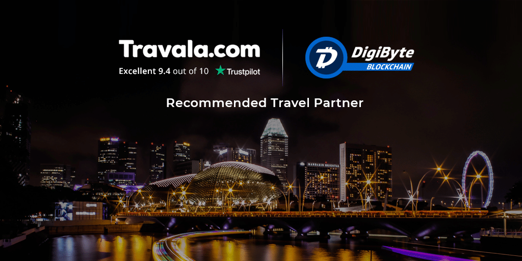 DigiByte announces a new partnership with Travala