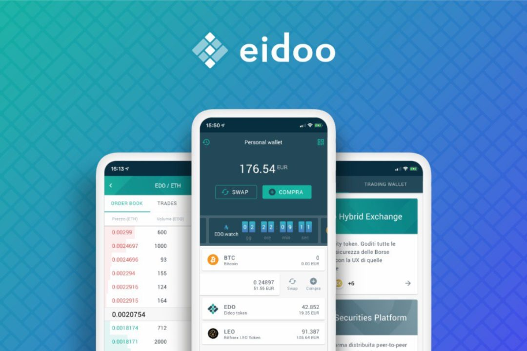 Important updates for Eidoo