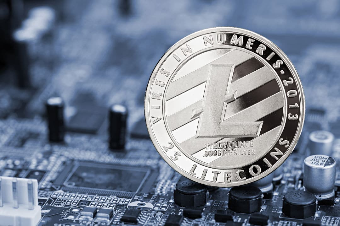 Litecoin, hashrate dropped by 20% after halving