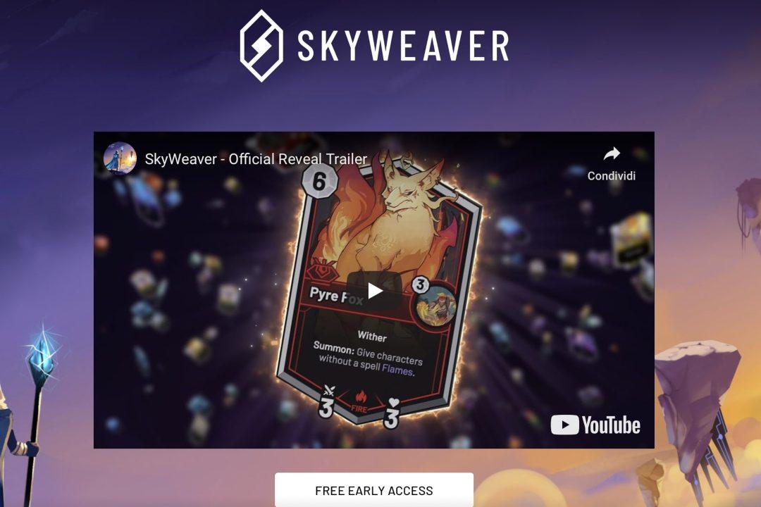 Skyweaver blockchain gaming