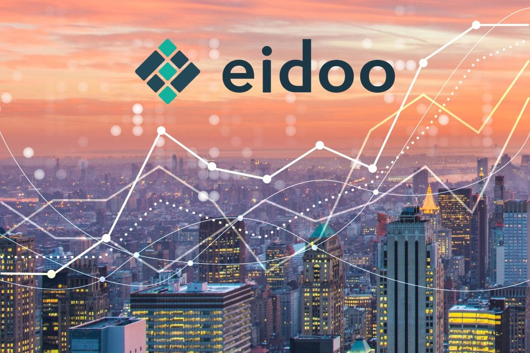 Eidoo, the price rises and goes upstream