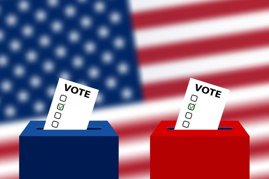 us elections eos blockchain