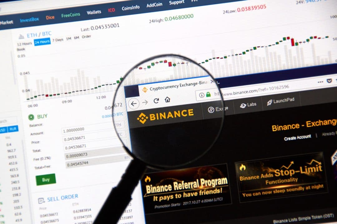 Binance starts delisting some cryptocurrencies