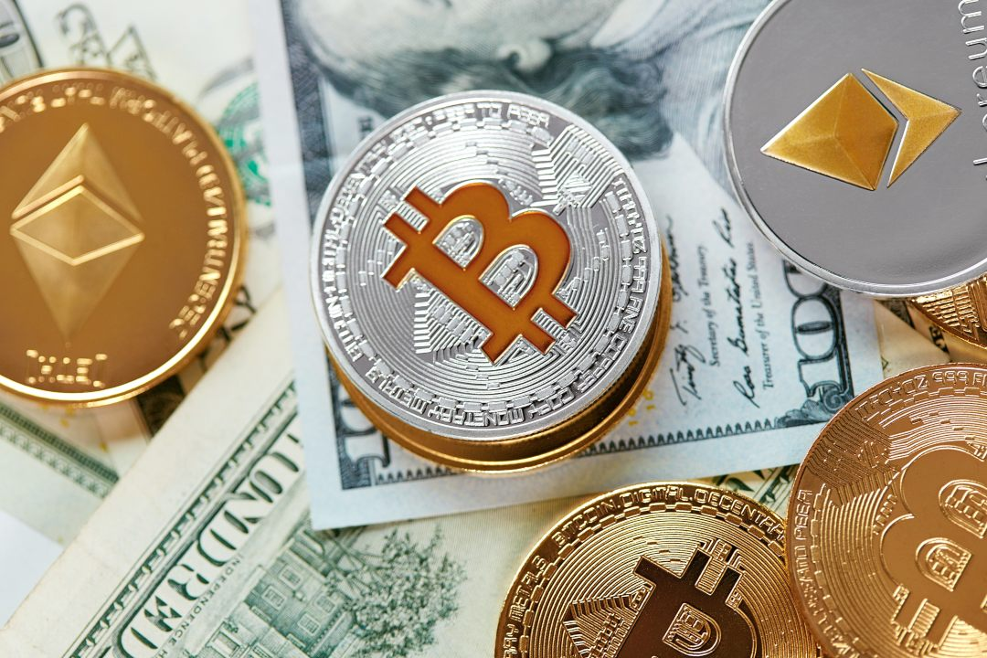 Less cash and more cryptocurrencies