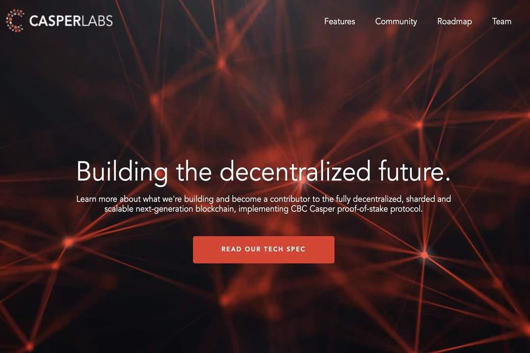 CasperLabs: fundraising by Terren Peizer raises $14.5 million