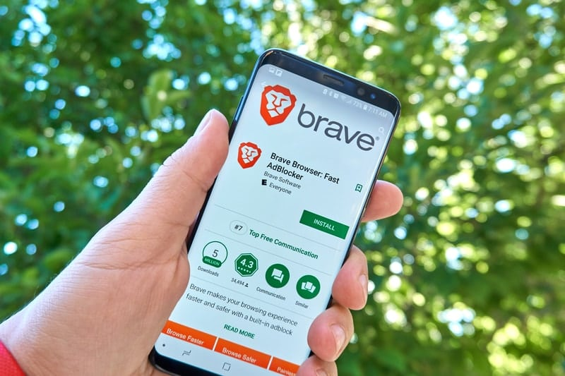 Japan: Brave browser app in the top 10
