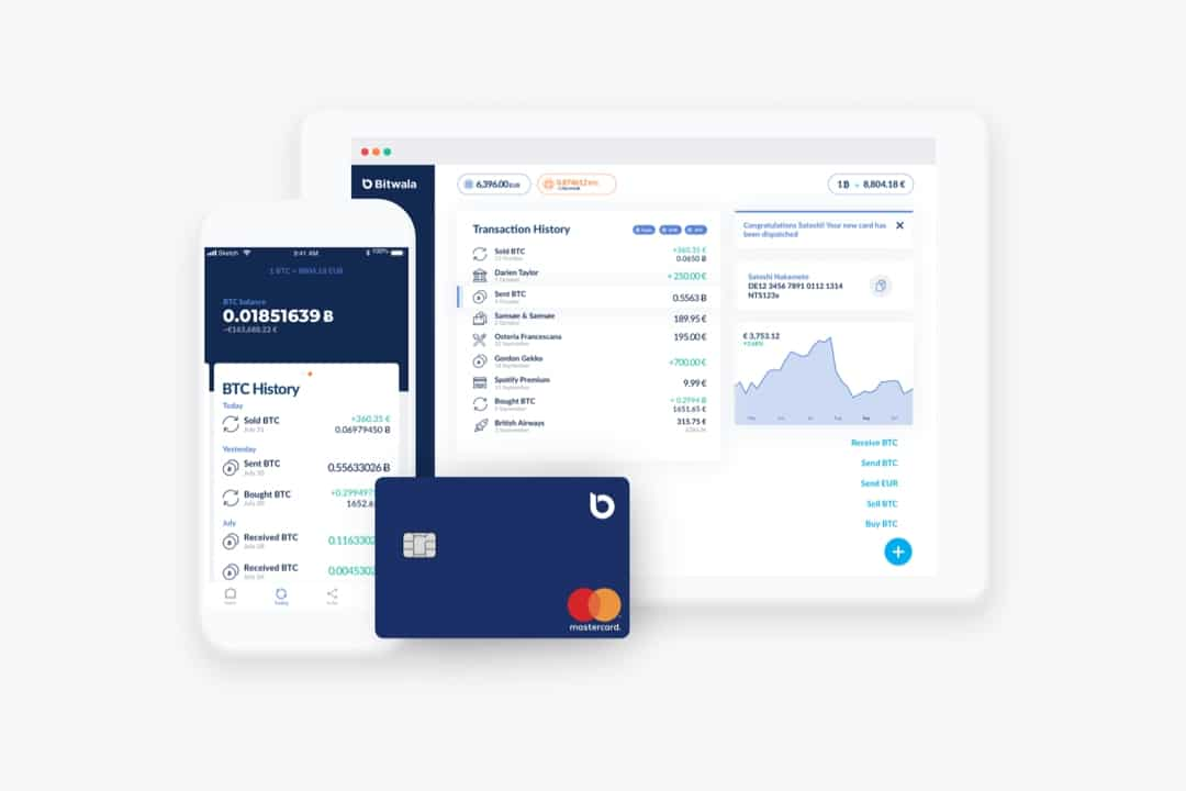 Bitwala, the first all-in-one-platform for Bitcoin and Euro