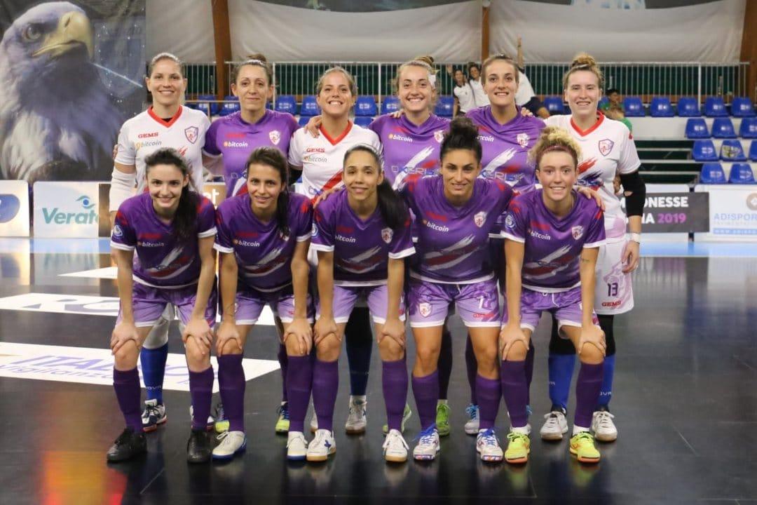 Futsal Florentia sponsors bitcoin