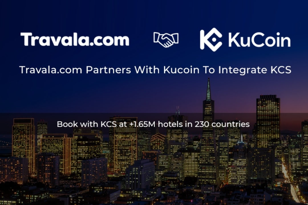 A partnership between Travala and KuCoin