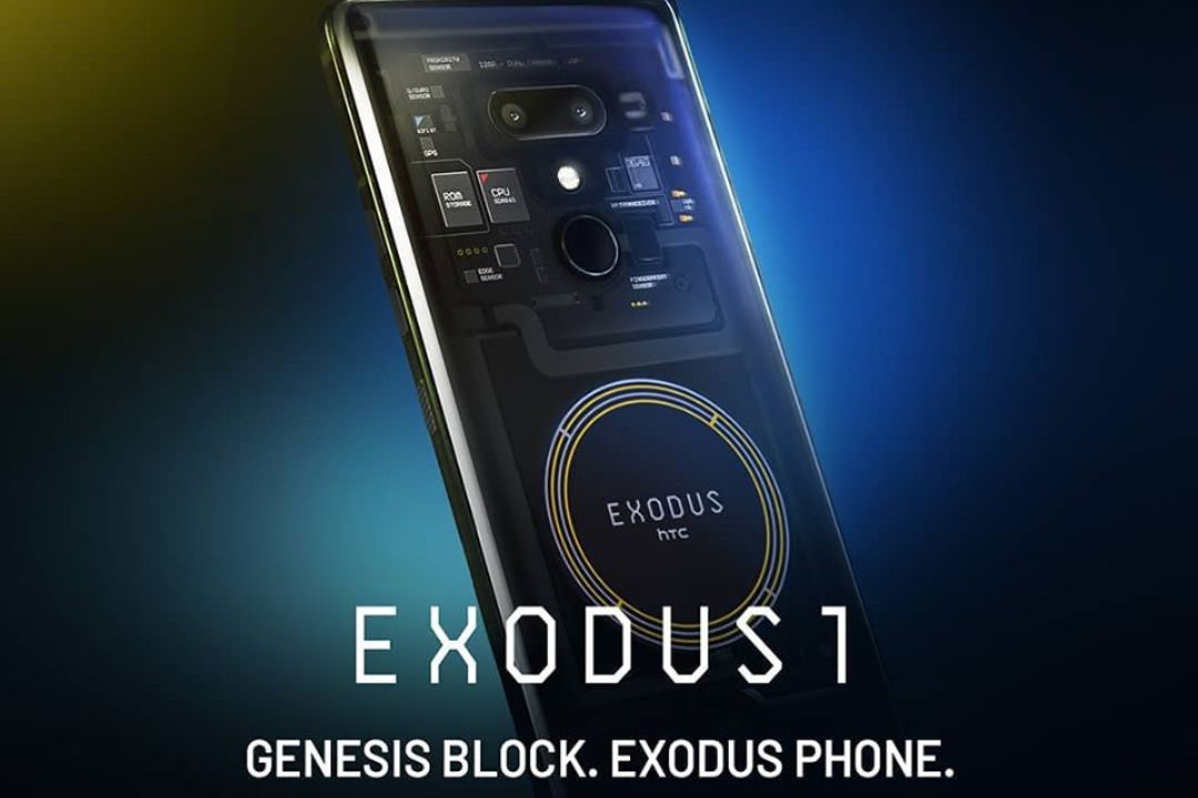 HTC Exodus 1, the smartphone for Binance