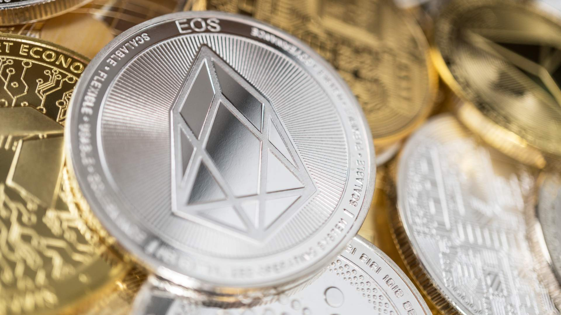 CCID report: the EOS crypto holds the record