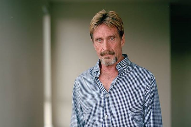 John McAfee stops sponsoring crypto projects