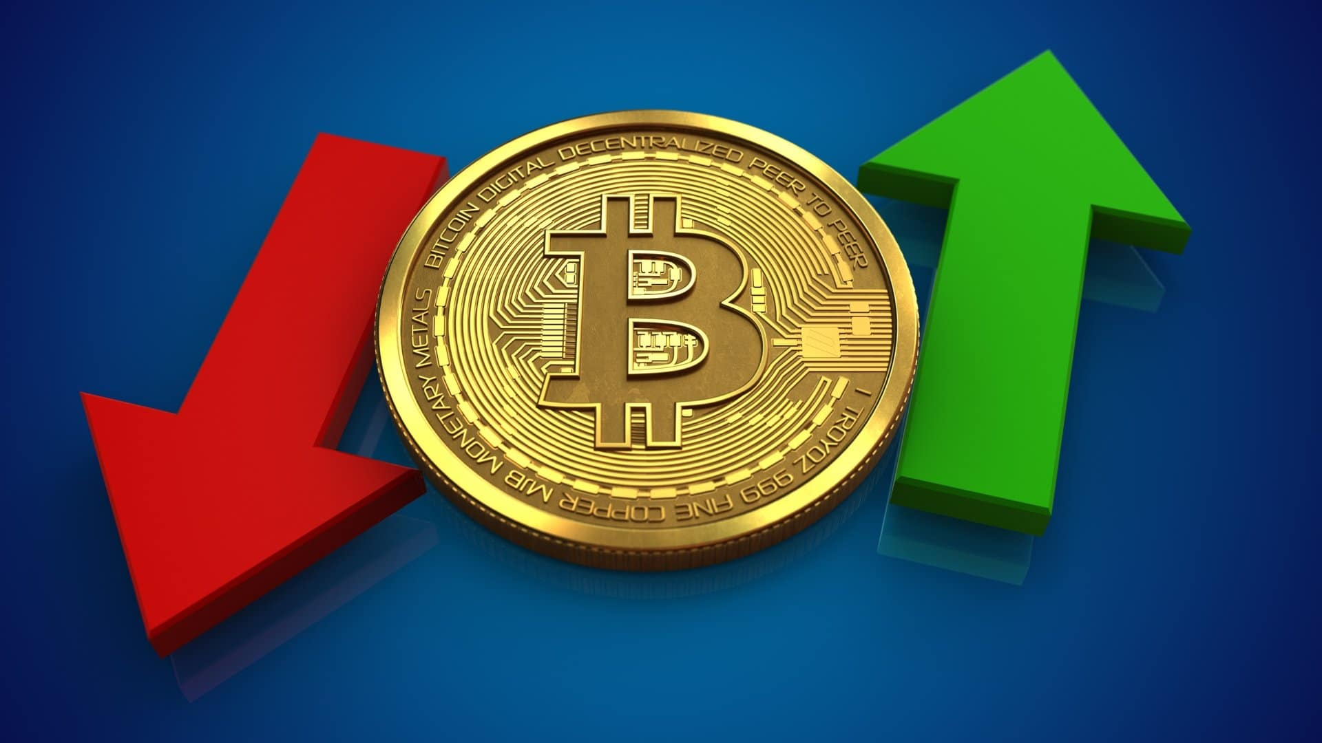 Bitcoin: the price goes up and down