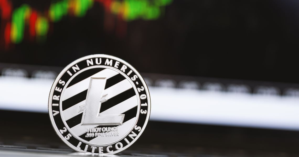 Litecoin, the price rises after the sinking