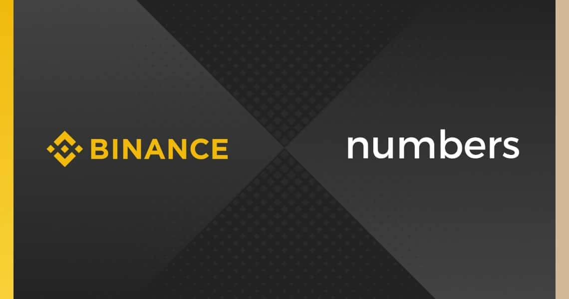 Binance invests in Numbers, a blockchain protocol for data tracking