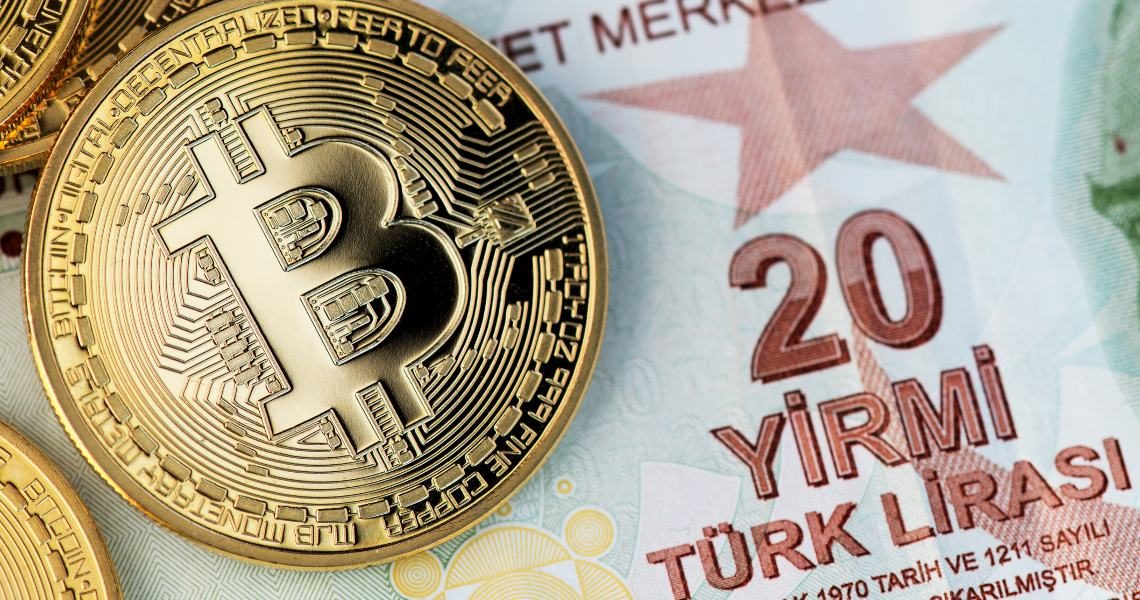 Bitcoin's capitalization exceeds the currency circulating in Turkey