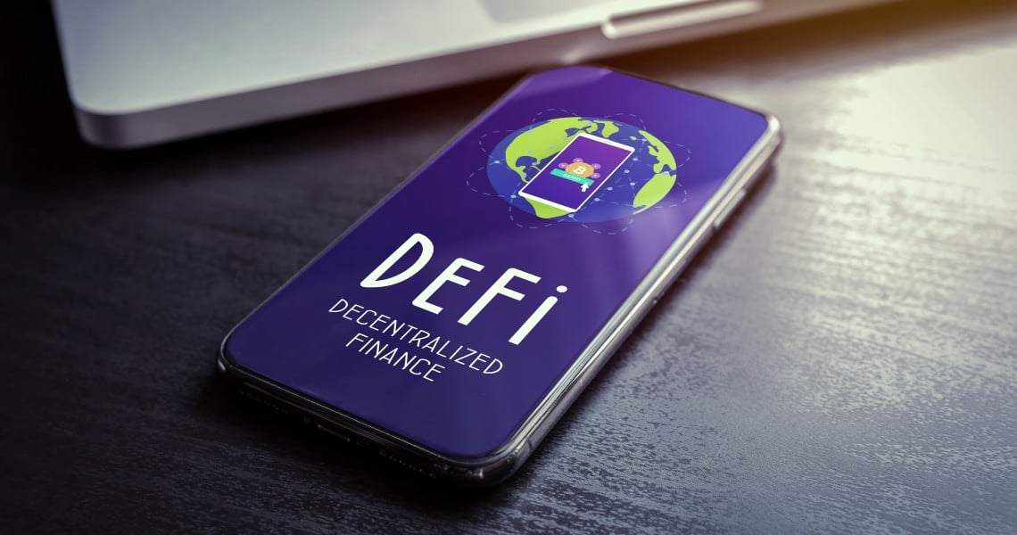 Exponential growth for DAI locked in DeFi tools