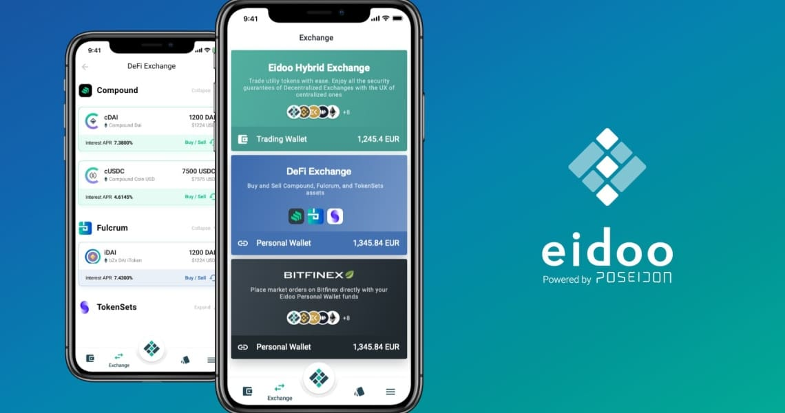 Eidoo launches DeFi exchange