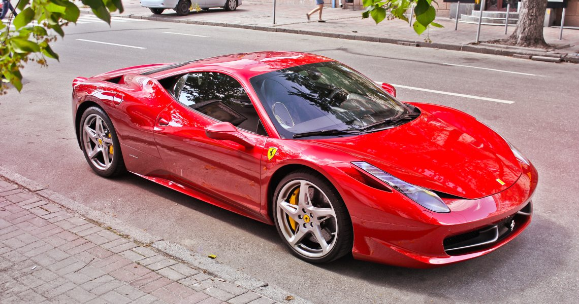 How To Buy A Ferrari With A Digital Token The Cryptonomist