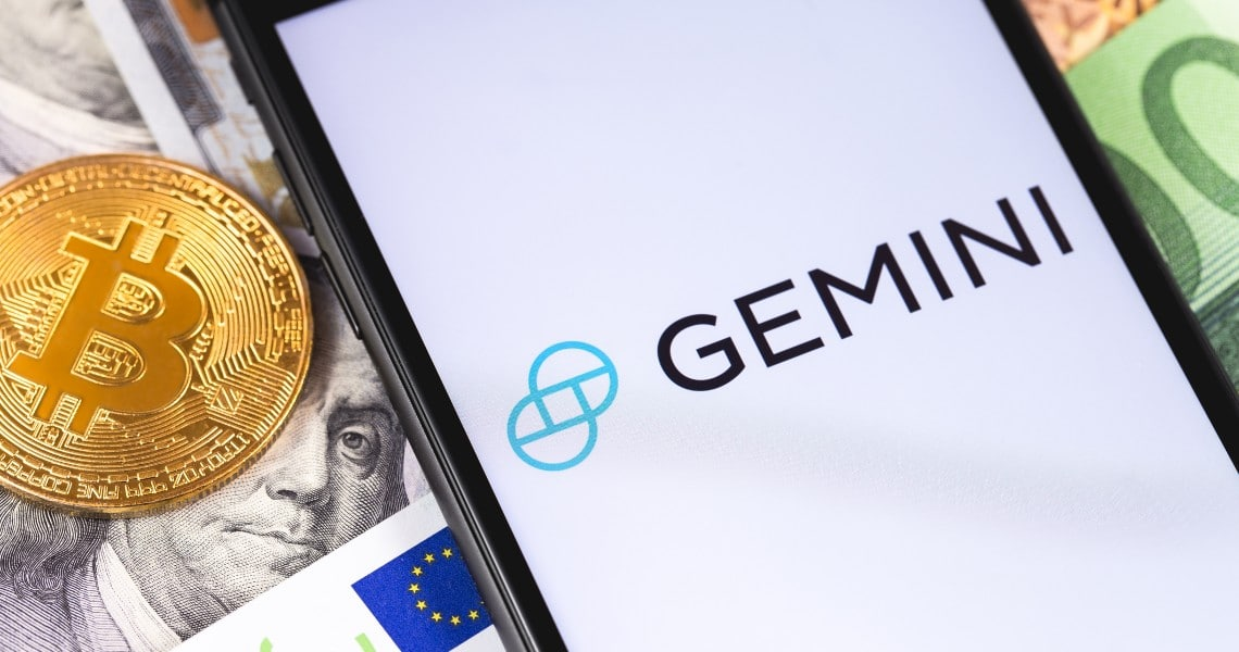 Gemini: a crypto educational campaign. $20 in BTC for free