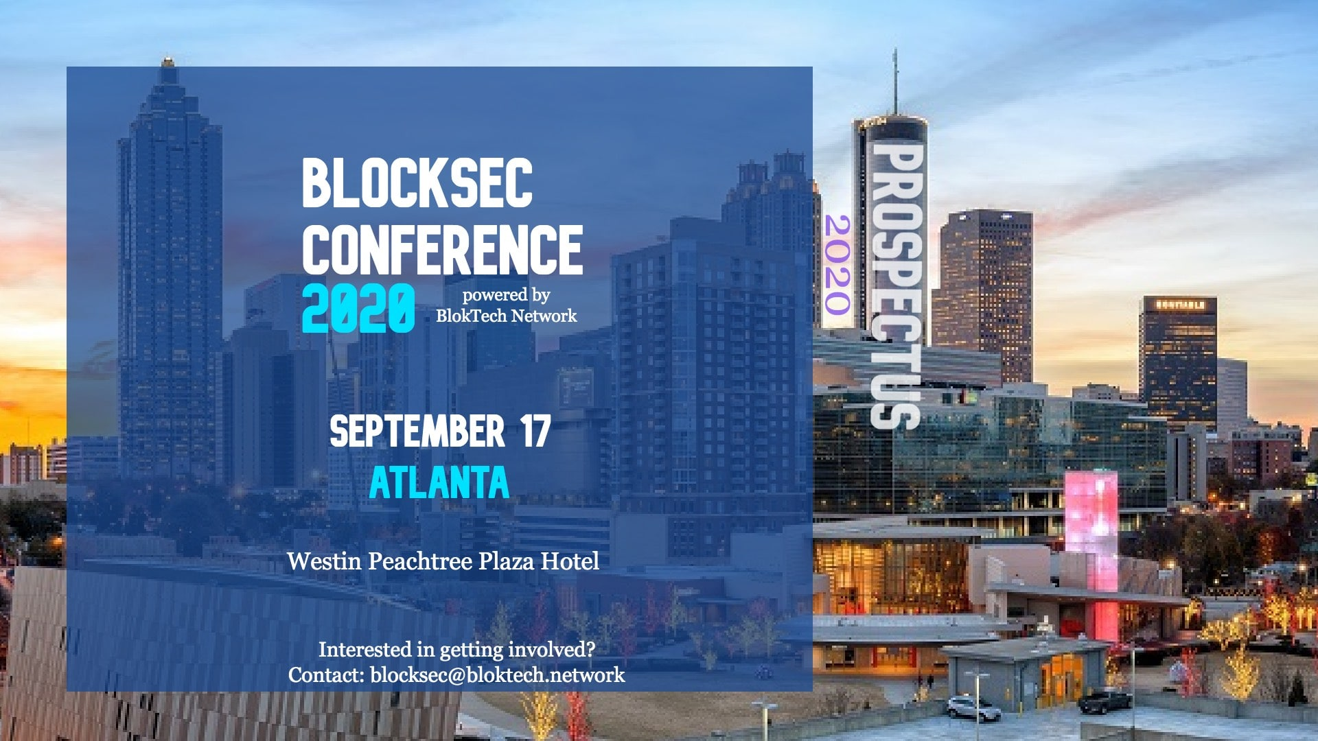 BlockSec Conference to become on September 16th