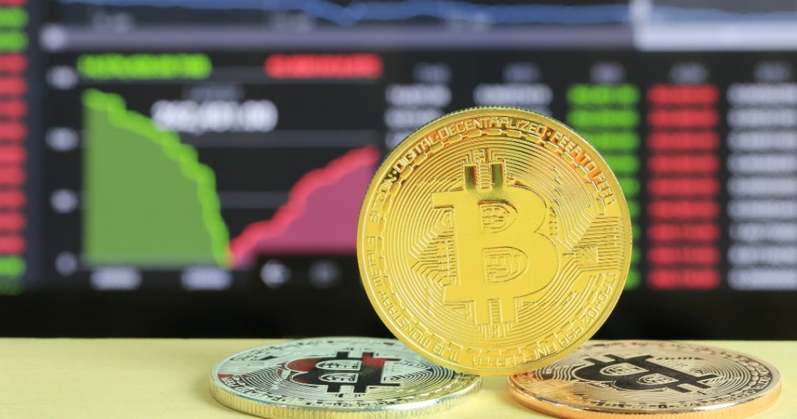 The close correlation between Bitcoin and the price of gold