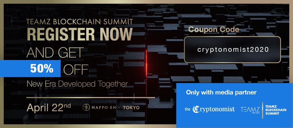 Japan's Global Blockchain Conference: 50% off for Cryptonomist readers