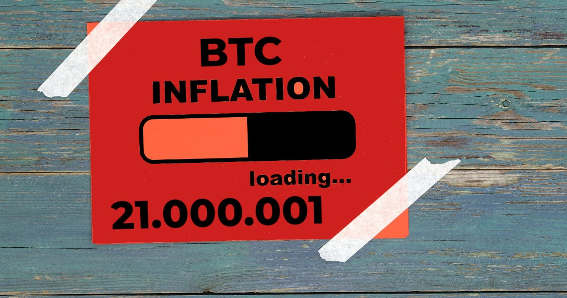 Exceeding the limit of 21 million Bitcoins: is inflation a taboo?