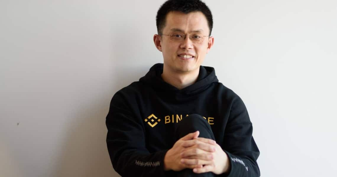 The net worth of the CEO of Binance exceeds $2.5 billion