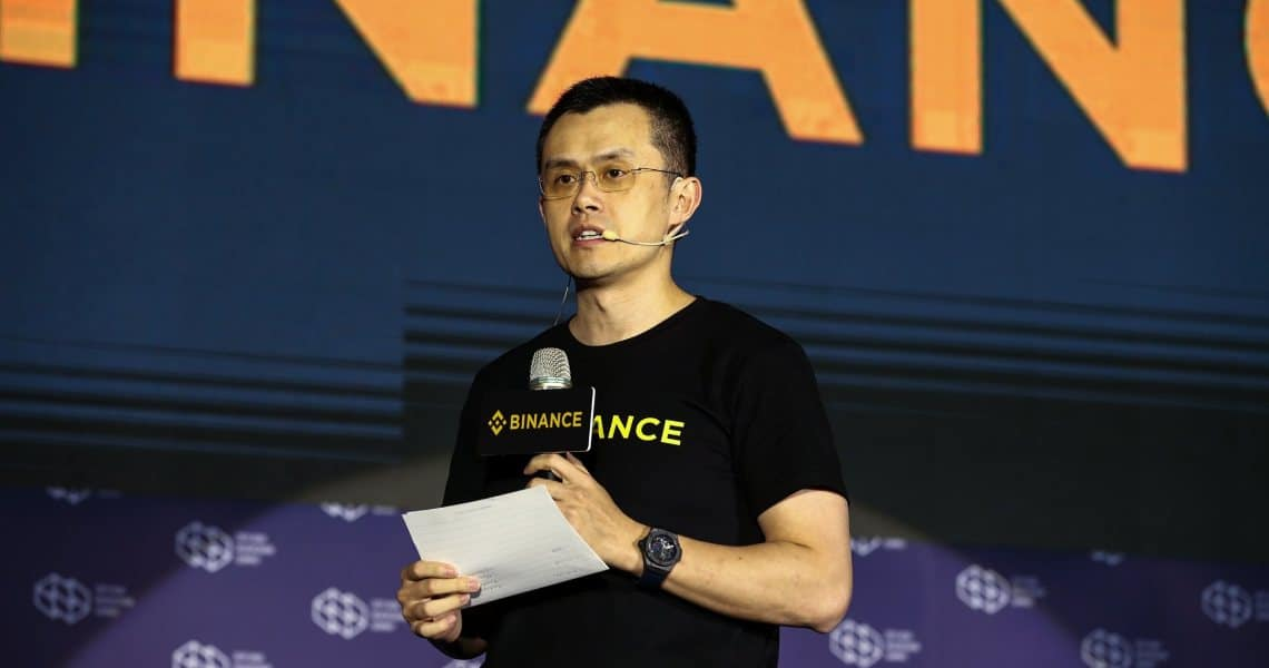 The CEO of Binance back against Craig Wright