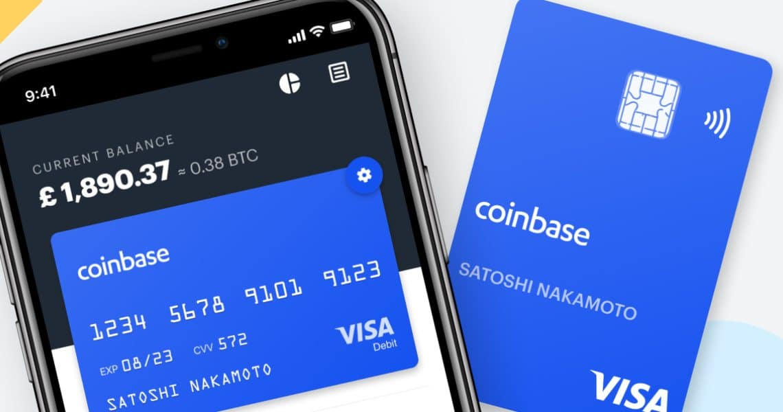 Coinbase: VISA membership for their card