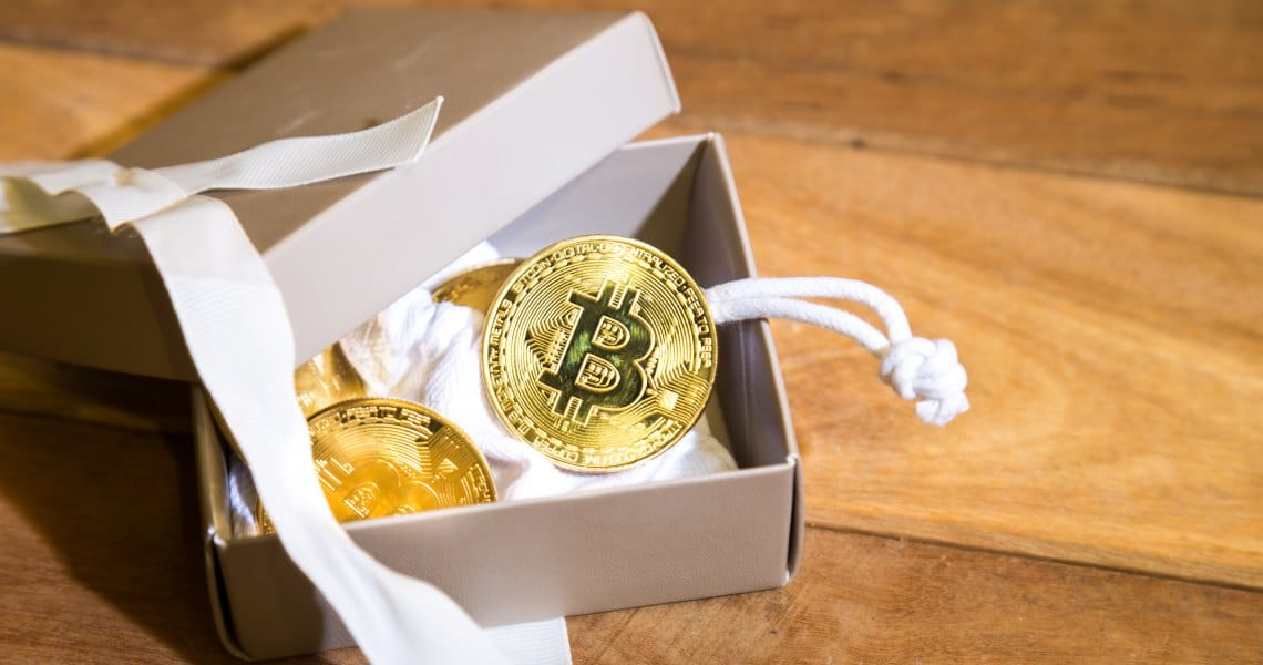 Valentine's Day gifts bitcoin