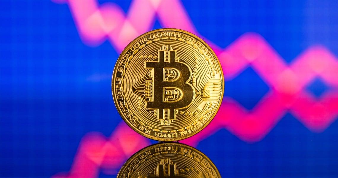 Bitcoin retreats 1% today