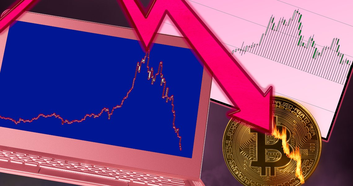 Flash crash for Bitcoin: drop to $9,200