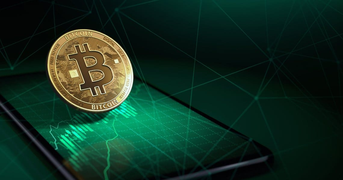 Bitcoin on the rise: today +10%