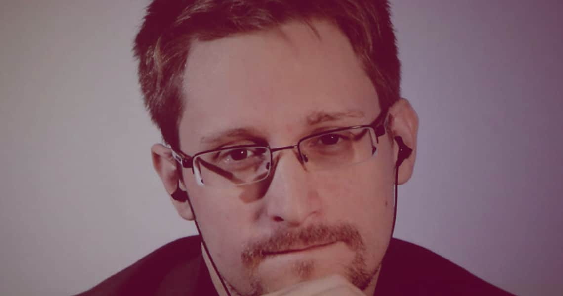 """Edward Snowden: """"Thanks to COVID-19 it's time to buy Bitcoin."""""""