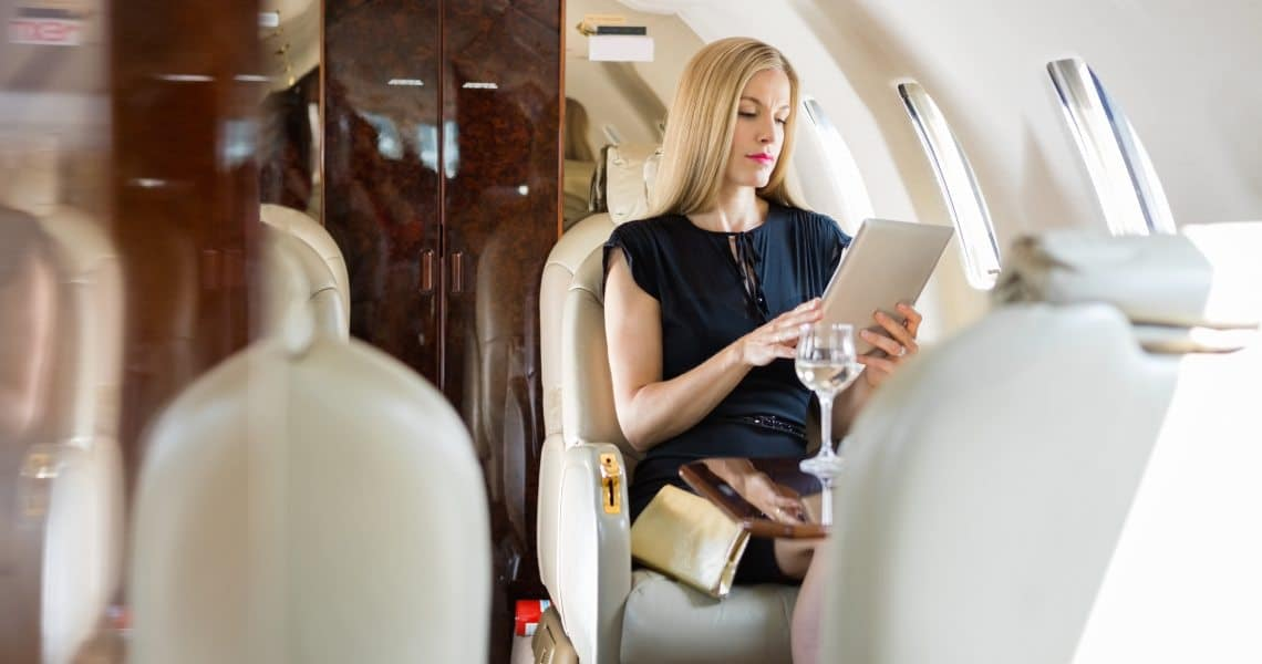 Fast Private Jet: bitcoin accepted during the Coronavirus days