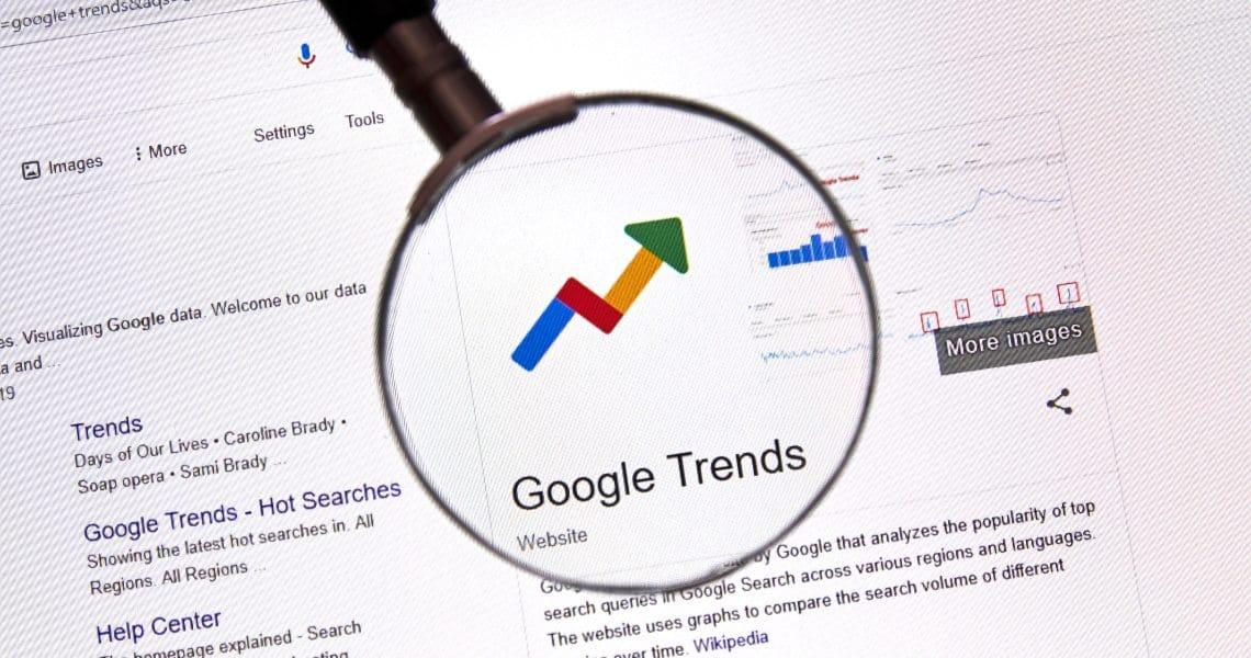 Coronavirus and Bitcoin on Google Trends