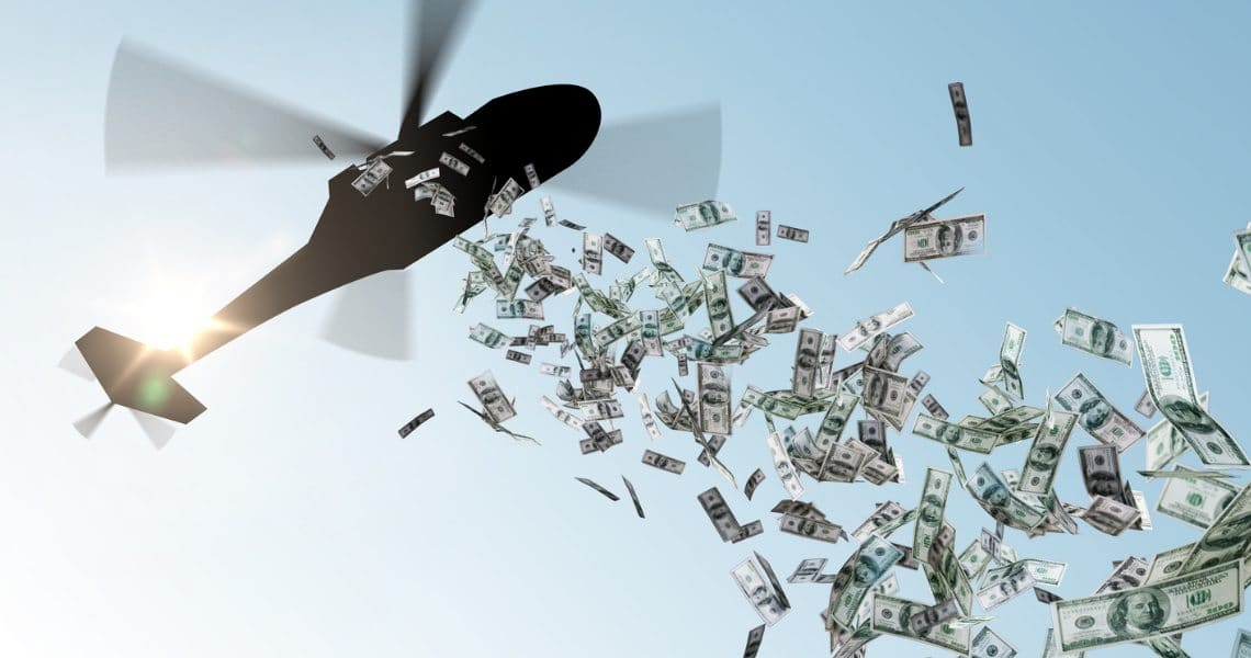 Helicopter money, Quantitative Easing and cryptocurrencies: a strange relationship