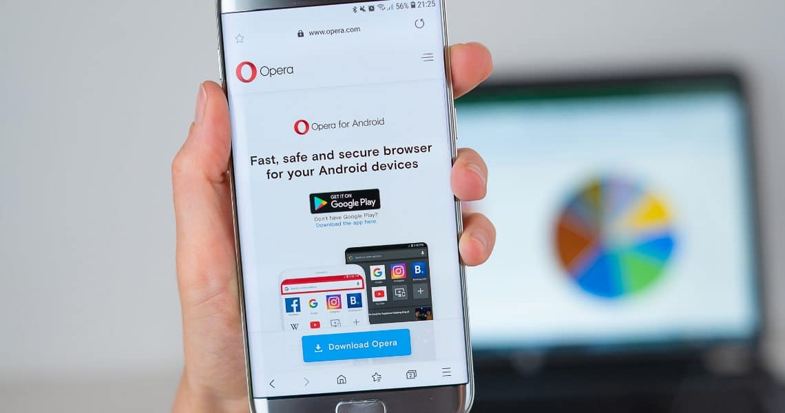Opera Android browser: new features for crypto