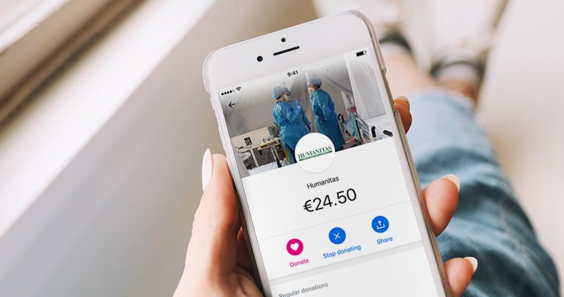 Revolut and donations for the Coronavirus emergency