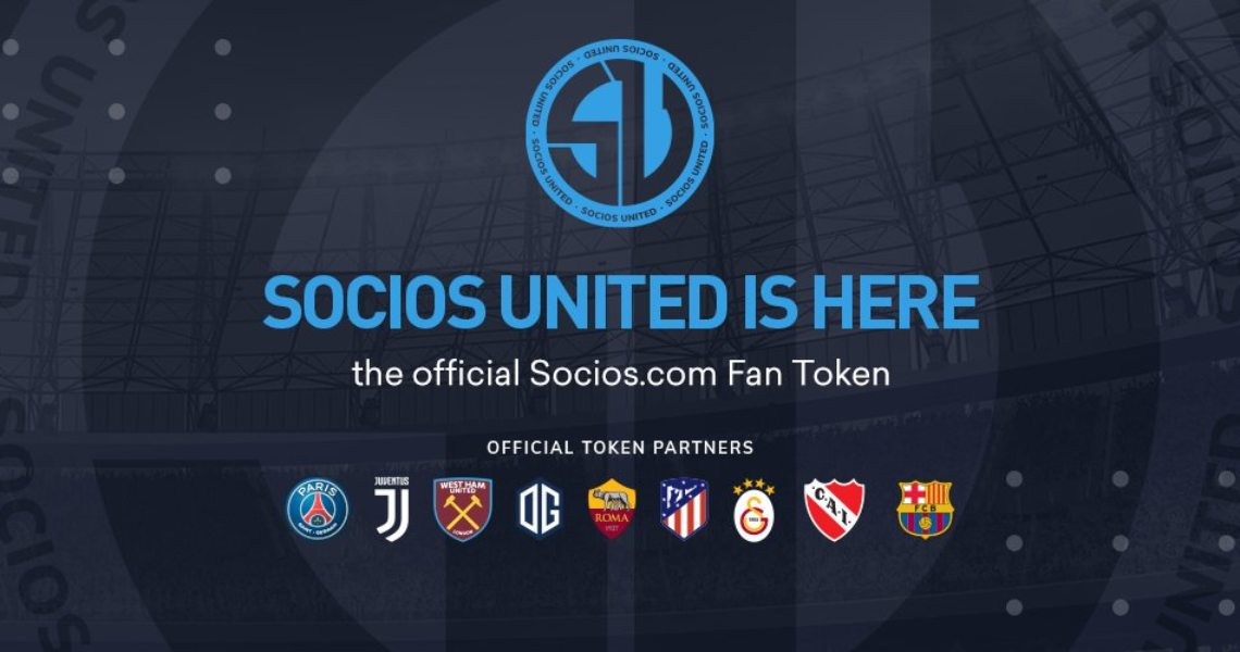 Socios launches United Fan Token ($SSU)