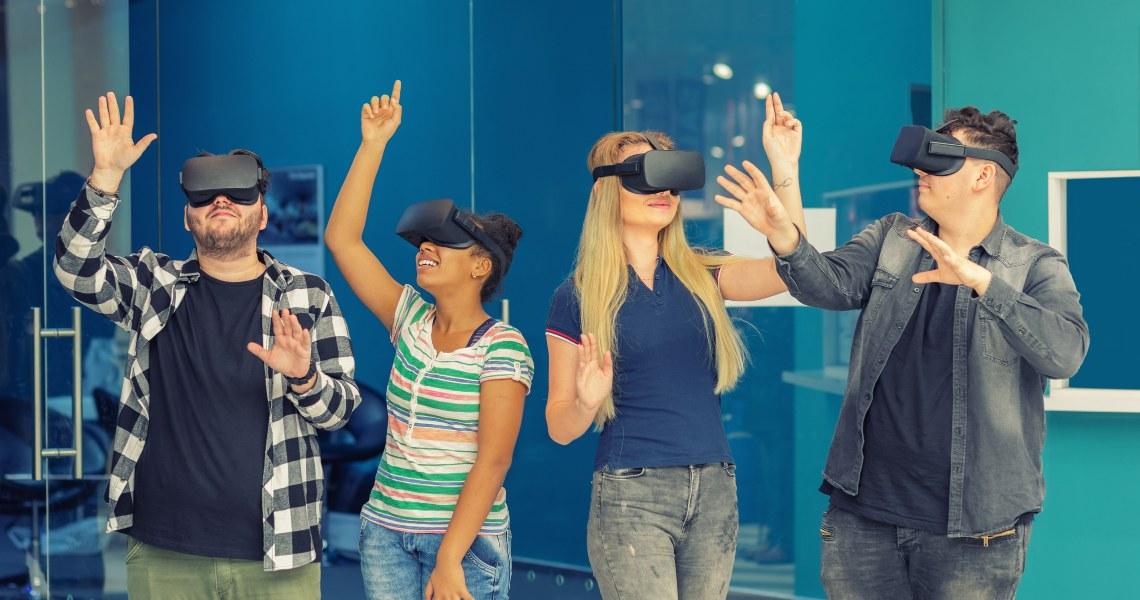 Coronavirus virtual reality