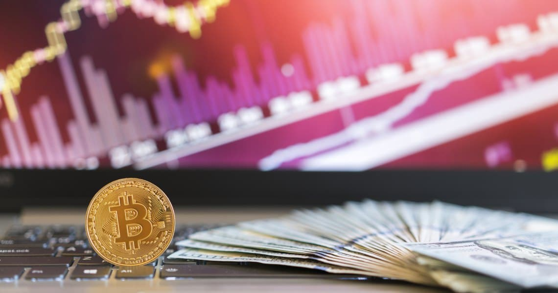 Cryptocurrency volumes rising again