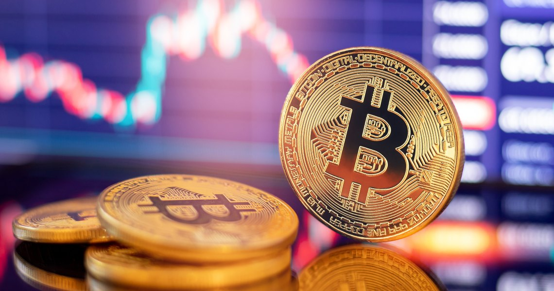 Crypto in positive while stock markets are falling