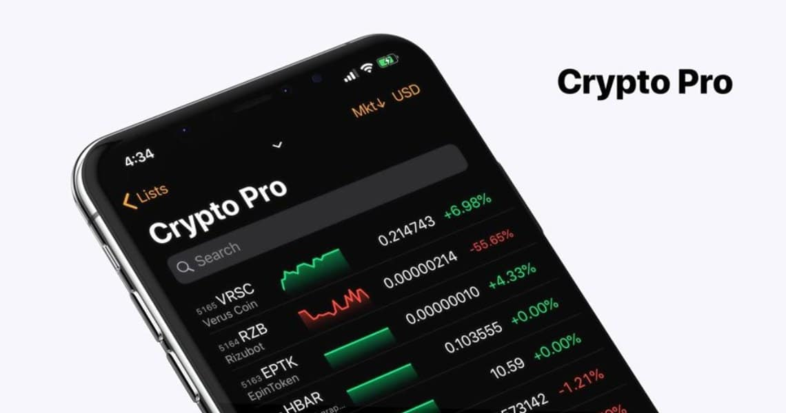 Crypto Pro: the tracking app for cryptocurrency portfolios