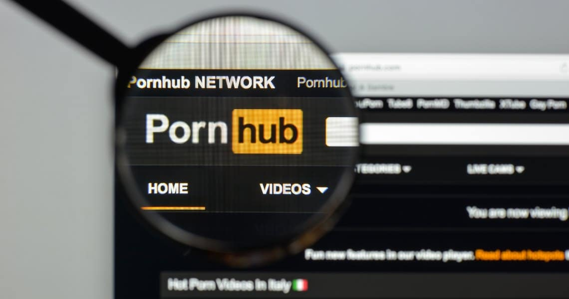 Pornhub: crypto payments available with Pumapay